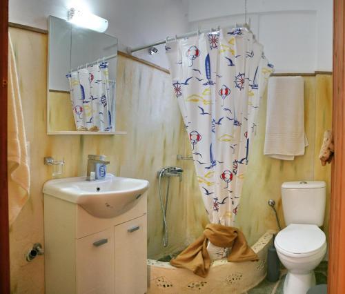 Ένα μπάνιο στο Evaland Traditional Houses