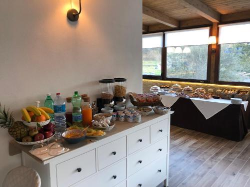 Cucina o angolo cottura di Hotel Al Ritrovo