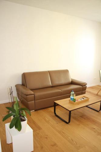 Posezení v ubytování Apartment NUMBER 5