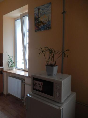 A kitchen or kitchenette at Studio Darvina 20