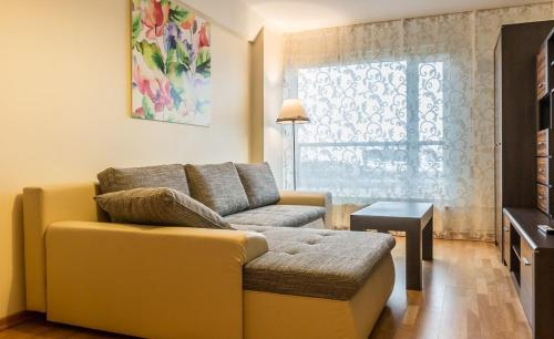 Istumisnurk majutusasutuses Jõe Apartments