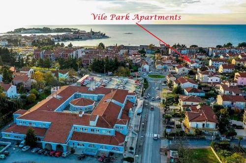 A bird's-eye view of Vile Park Apartments