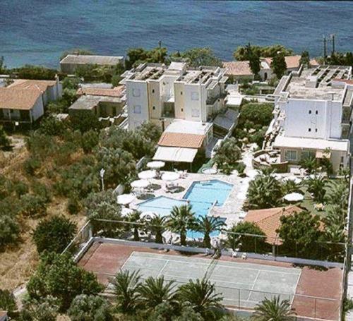 Vista aerea di Klonos Anna
