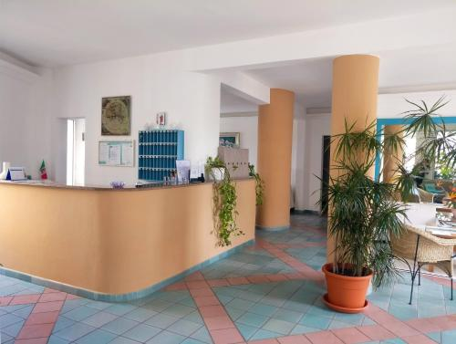 The lobby or reception area at Hotel Da Cecco