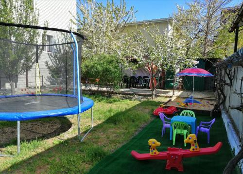 Children's play area at Na Solnechnoy 8 Guest House