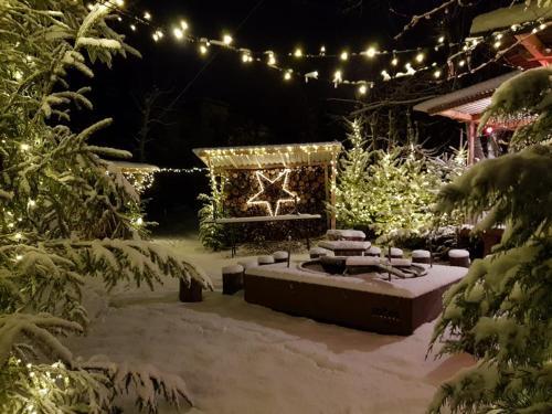 Villa Donkey Chalet im Winter
