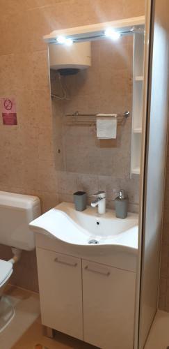 A bathroom at Apartments Coko