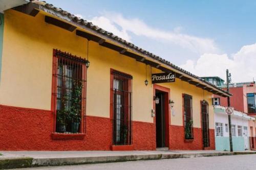 Edificio en el que se encuentra la posada u hostería