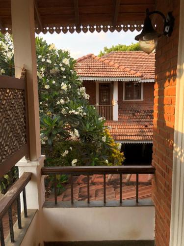A balcony or terrace at Villa Araliya