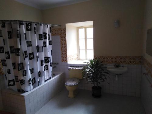 A bathroom at Secret Garden