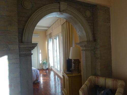 A seating area at Palazzo Dragoni