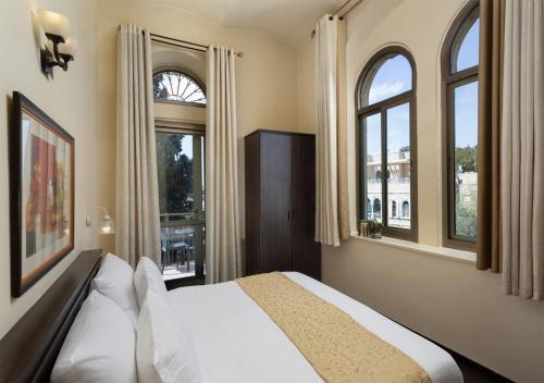 Кровать или кровати в номере The Little House In Bakah