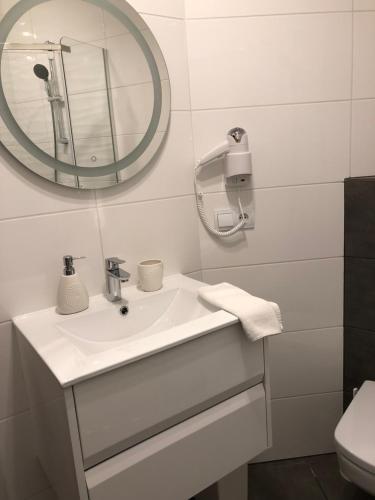 Łazienka w obiekcie Willa Biały Dom