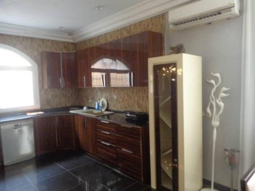 A kitchen or kitchenette at Magnum house