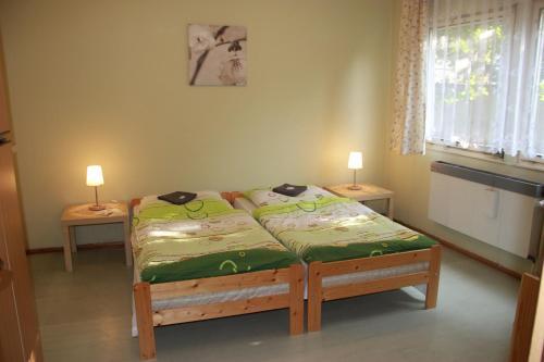 A bed or beds in a room at Hostel U Sv. Štěpána