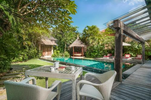 The swimming pool at or near Space Villas Bali