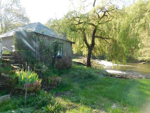 A garden outside Le moulin l'Eveque