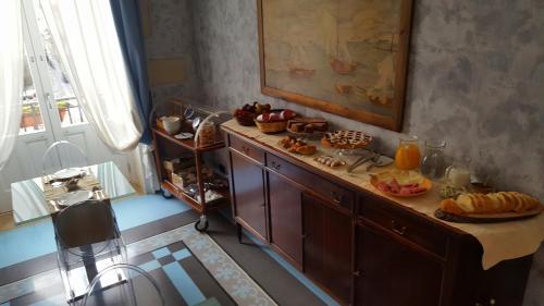 Cucina o angolo cottura di Archimede Vacanze B&B