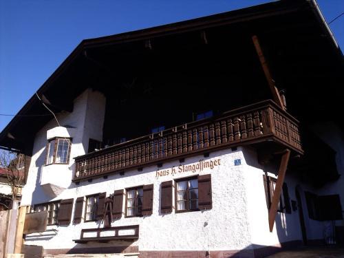 Haus H. Stangassinger apt. 1st floor