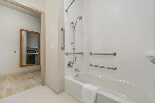 A bathroom at Holiday Inn Express & Suites - Carrollton West
