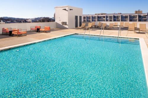 The swimming pool at or near Hyatt House Nashville at Vanderbilt