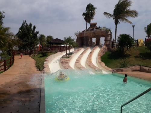 The swimming pool at or close to Náutico Flat