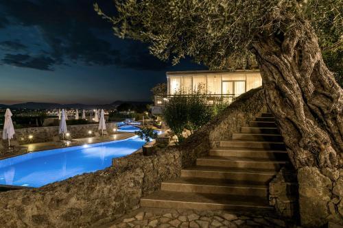 The swimming pool at or near Divani Corfu Palace
