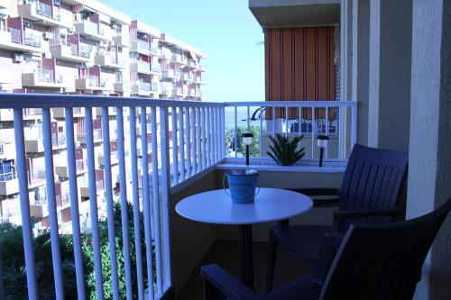 A balcony or terrace at Aguila 110
