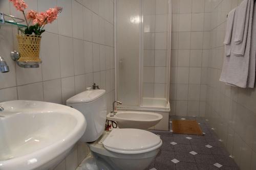Ванная комната в Пансионат Надежда