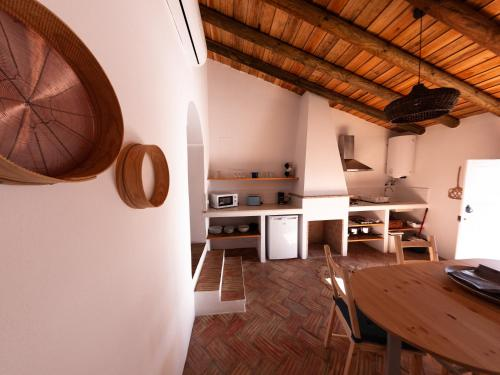 A cozinha ou kitchenette de Casas de Mértola