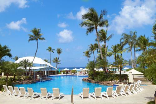The swimming pool at or near Hyatt Regency Guam