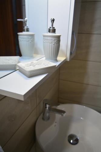 A bathroom at Appartment Anna