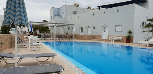 The swimming pool at or near Hotel Thirasia