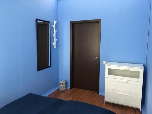 Кровать или кровати в номере Houseton Rooms