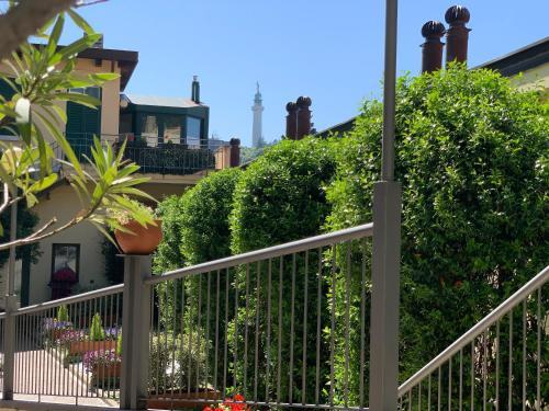 Ein Balkon oder eine Terrasse in der Unterkunft Le Residenze dei Serravallo