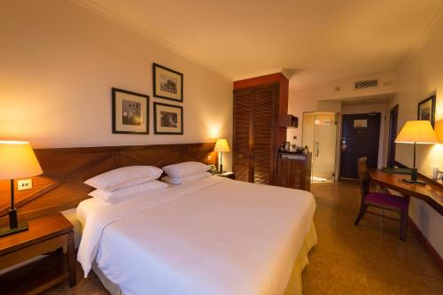 A bed or beds in a room at 254 Ole Sereni