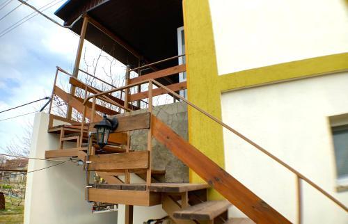 Балкон або тераса в Гостевой дом Макарова 46