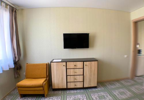 Телевізор і / або розважальний центр в Гостевой дом Макарова 46