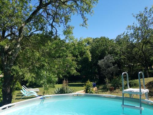 The swimming pool at or near Entre Nîmes et Arles