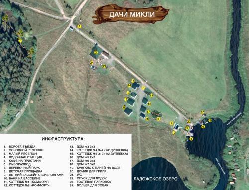 Natsionalnyy Park Ladozhskiye Shkhery-Dachi Mikli с высоты птичьего полета