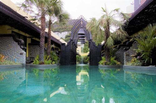 The swimming pool at or near Sawasdee Village