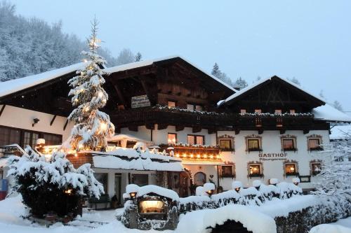 Gasthof Piburger See im Winter