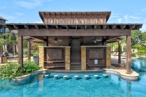 The swimming pool at or close to Villa at the Reserve at Lake Travis