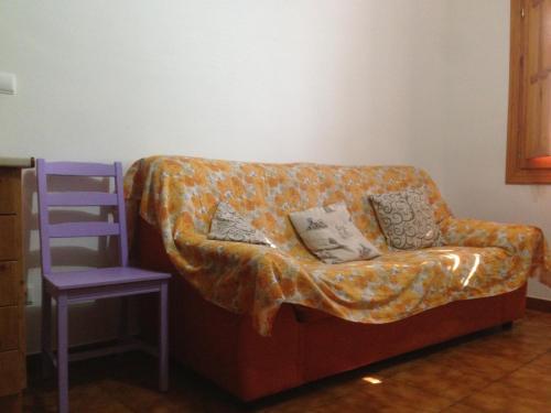 Zona de estar de El Salat, alojamientos rurales