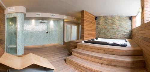 Spa and/or other wellness facilities at Lagaya Apartaments & Spa
