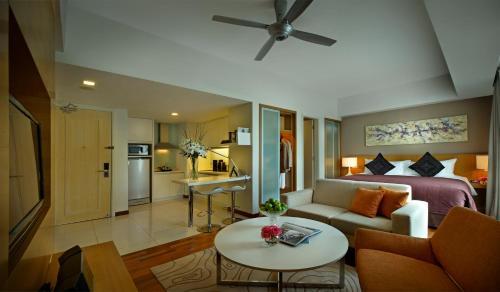吉隆坡輝盛坊國際公寓休息區