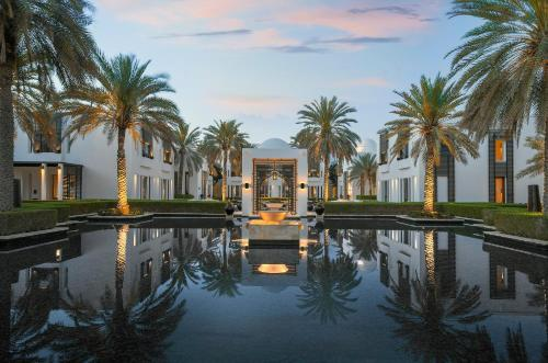 The swimming pool at or near The Chedi Muscat