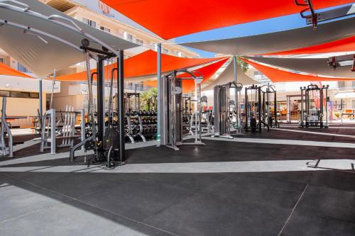 The fitness center and/or fitness facilities at BH Mallorca- Adults Only