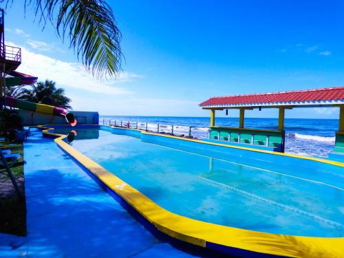 The swimming pool at or near Hotel Partenon Beach & Resort