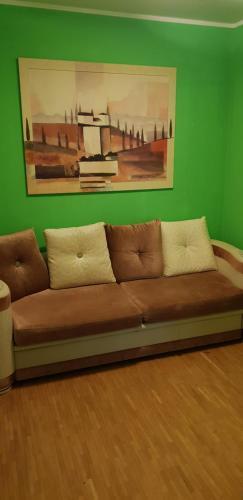 Ein Sitzbereich in der Unterkunft Haus Enteresan
